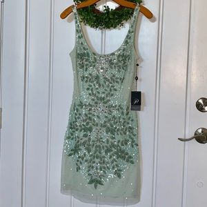 Adrianna Papell Mint Formal Dress